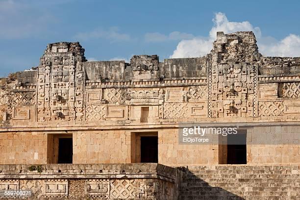 Nunnery Quadrangle building, Uxmal, Mexico