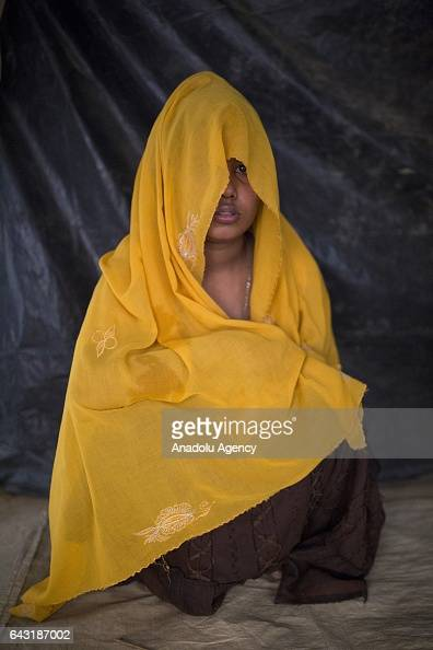 COX'S BAZAR BANGLADESH FEBRUARY 20 Nur Kayda one of the women who were raped by Myanmar armed forces members takes shelter at Leda unregistered...