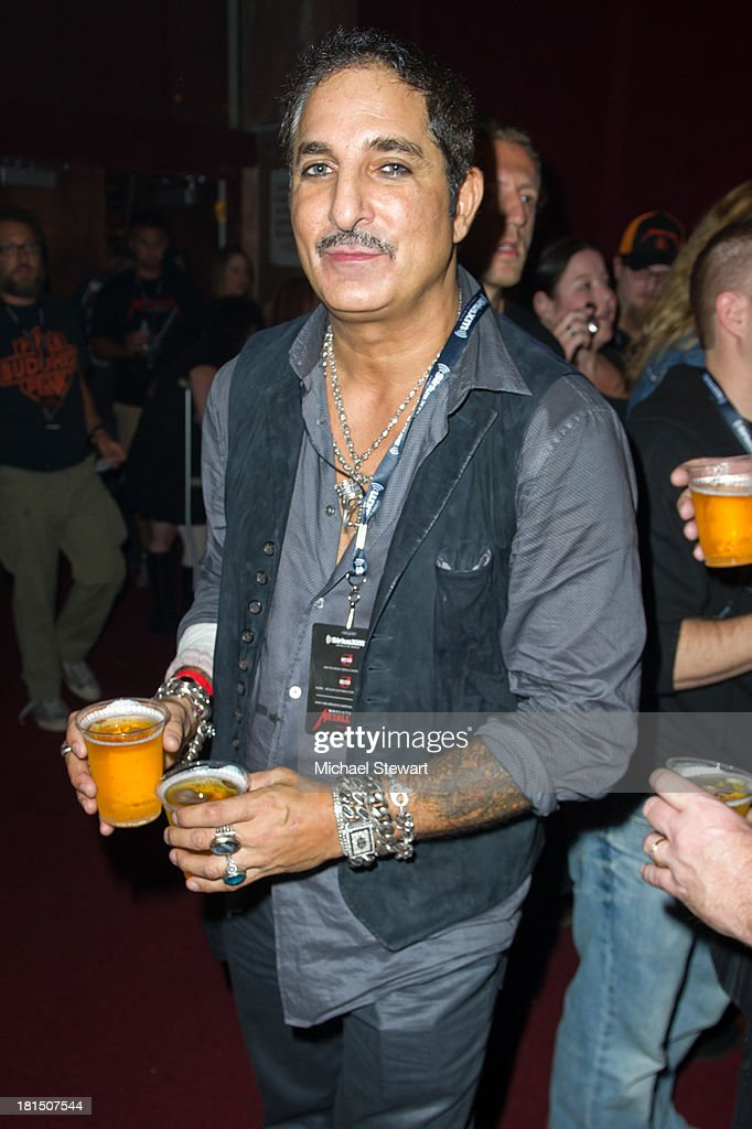 Nur Khan attends Metallica Performs a private exclusive concert for SiriusXM listeners at The Apollo Theater on September 21, 2013 in New York City.