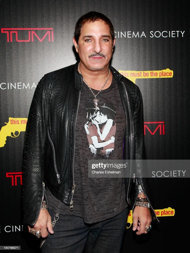 Nur Khan attends the Weinstein Company, The Cinema Society & Tumi screening of 'This Must Be the Place' at the Tribeca Grand Screening Room on October 25, 2012 in New York City.