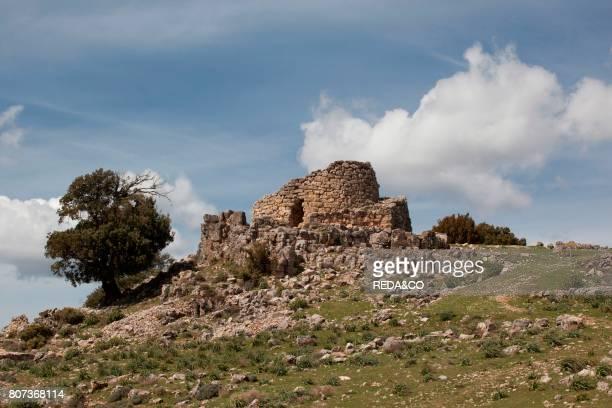 Nuraghe Ardasai Archeologia Archeology Seui Ogliastra Sardinia Italy Europe