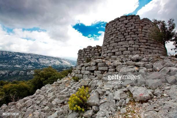 Nuraghe Mereu Su Gorroppu Supramonte Urzulei Sardinia Italy Europe