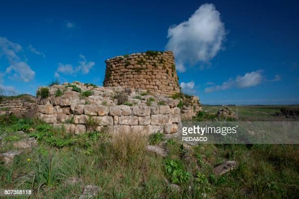 Nuraghe Piscu Archeologia Archeology Suelli Cagliari Sardinia Italy Europe