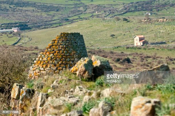 Nuraghe Ruggiu Macomer Provincia di Nuoro Sardinia Italy Europe