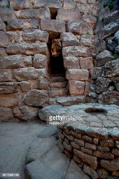 Nuraghe Santu Antine Archeologia Archeology Torralba Sassari Sardinia Italy Europe