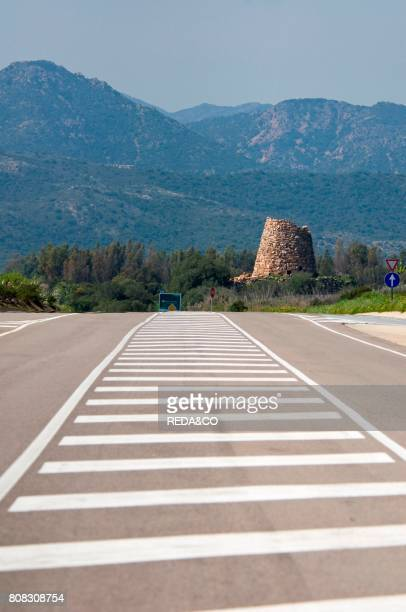 Nuraghe Soro called Nuraghe Asoru San Vito Cagliari district Sardinia Italy Europe
