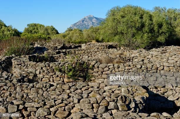 Nuraghe villages of Serra Orrios Dorgali Sardinia Italy