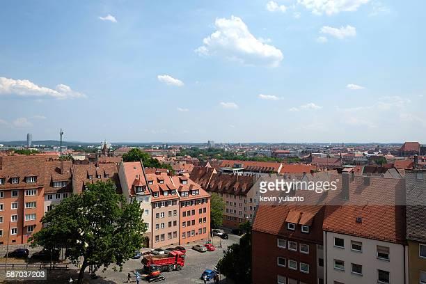 Nuremberg cityscape