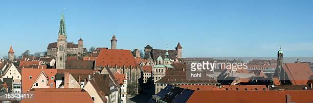 Nuremberg panorama view