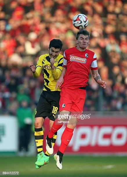 Nuri Sahin Maximilian Philipp Fußball 1 Bundesliga SC Freiburg Borussia Dortmund 03 722015