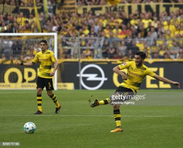 Nuri Sahin of Borussia Dortmund in action during the Bundesliga soccer match between Borussia Dortmund and Hertha BSC Berlin at the Signal Iduna Park...