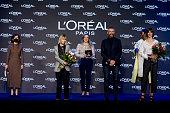 L'Oreal Awards - Mercedes Benz Fashion Week Madrid -...