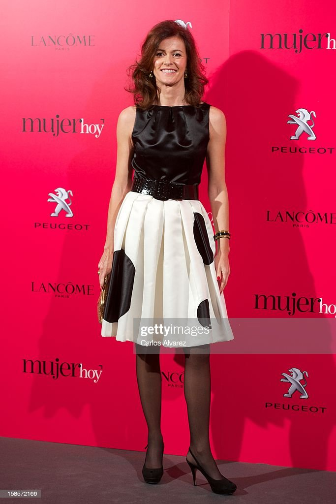 Nuria March attends Mujer Hoy awards 2012 at ABC Museum on December 19, 2012 in Madrid, Spain.