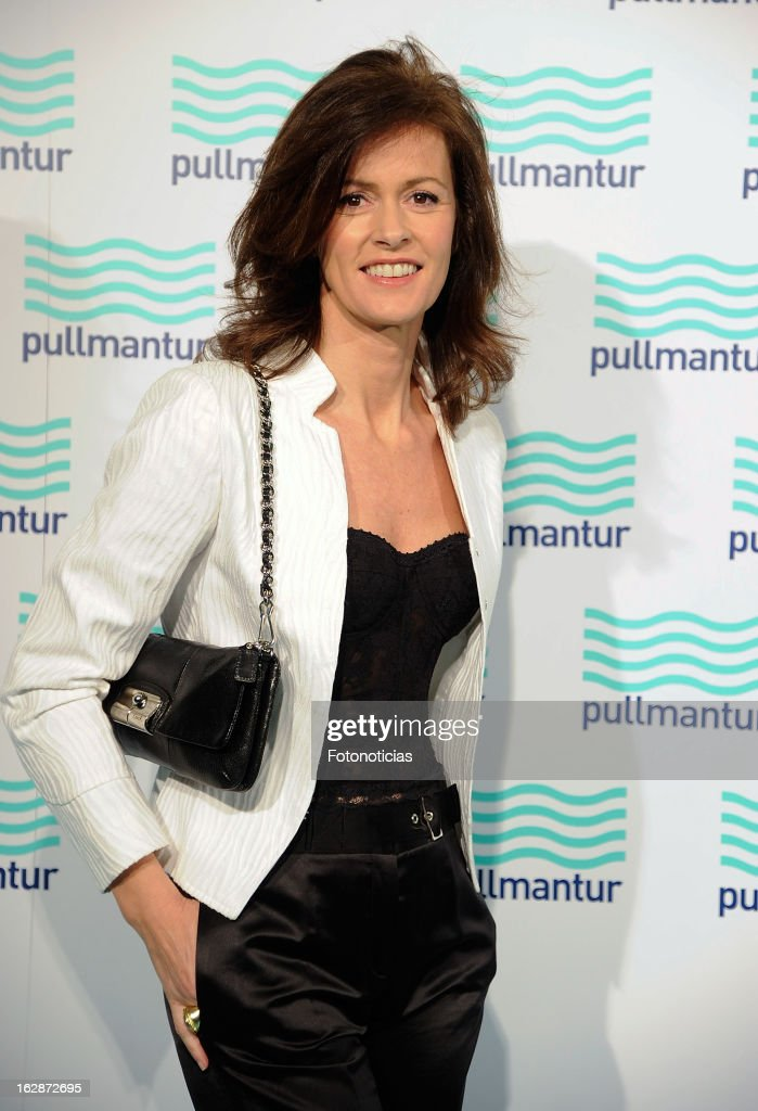 Nuria March attends the Blue Night by Pullmantur at Neptuno Palace on February 28, 2013 in Madrid, Spain.