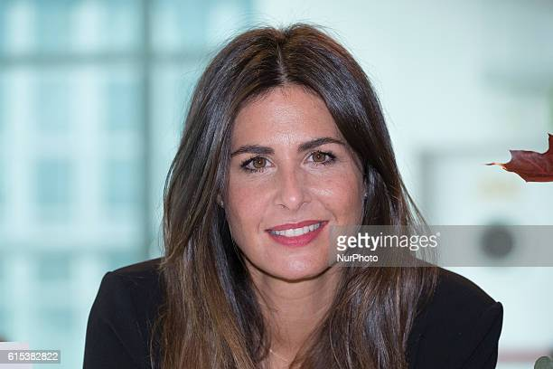 Nuria Roca attends a promotional event for the Wonders brand in Madrid on October 18 2016