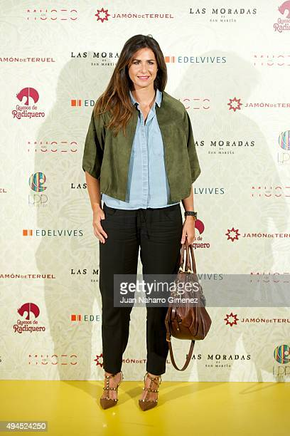 Nuria Roca attends 'Coleccion Miranda' presentation at Museo ABC on October 27 2015 in Madrid Spain