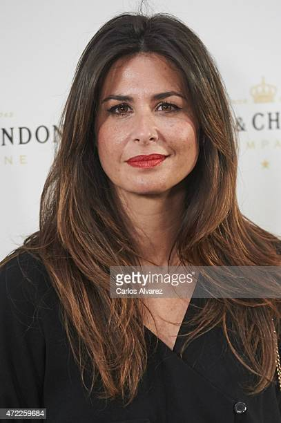 Nuria Roca attends 'Moet Tiny Tennis' event at the French Embassy on May 5 2015 in Madrid Spain