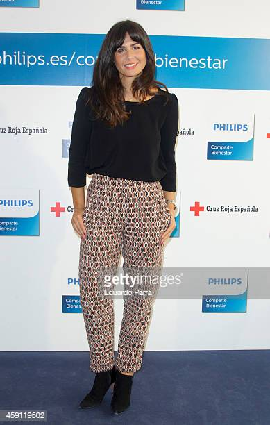 Nuria Roca attends the 'Comparte Bienestar' campaign presentation at Las Letras hotel on November 17 2014 in Madrid Spain