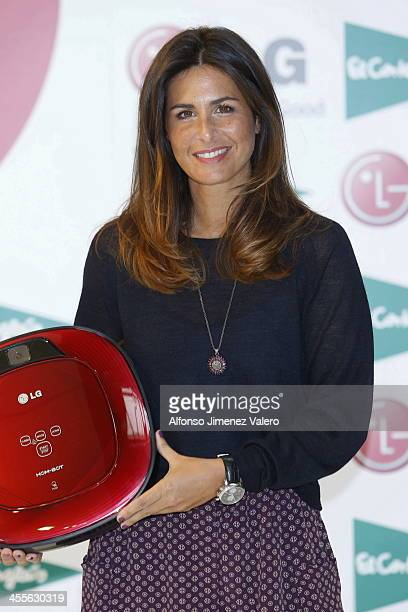 Nuria Roca attends the dancing robots LG Master Class at El Corte Ingles on December 12 2013 in Madrid Spain