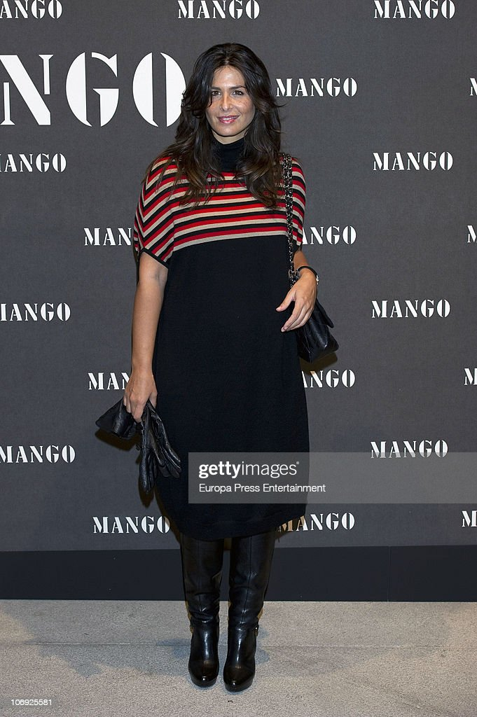 <a gi-track='captionPersonalityLinkClicked' href=/galleries/search?phrase=Nuria+Roca&family=editorial&specificpeople=491015 ng-click='$event.stopPropagation()'>Nuria Roca</a> attends the launch of Mango new spring/summer 2011 collection at the Palacio de Cibeles on November 16, 2010 in Madrid, Spain.