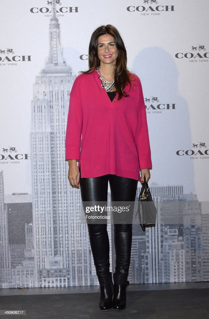 <a gi-track='captionPersonalityLinkClicked' href=/galleries/search?phrase=Nuria+Roca&family=editorial&specificpeople=491015 ng-click='$event.stopPropagation()'>Nuria Roca</a> attends the opening of Coach boutique on November 20, 2013 in Madrid, Spain.