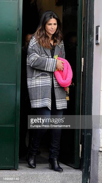 Nuria Roca is seen on January 15 2013 in Madrid Spain