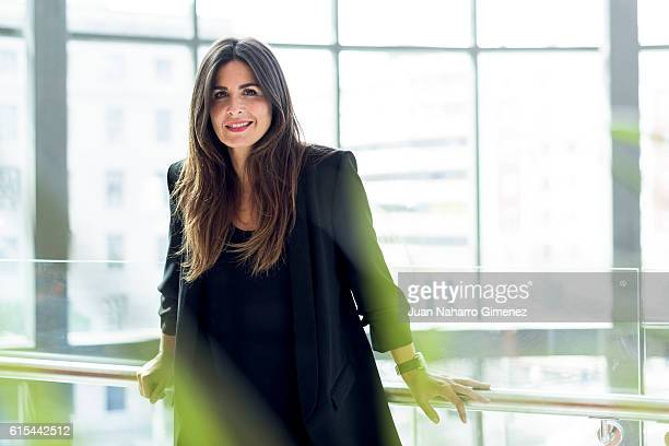 Nuria Roca poses during a portrait session on October 18 2016 in Madrid Spain