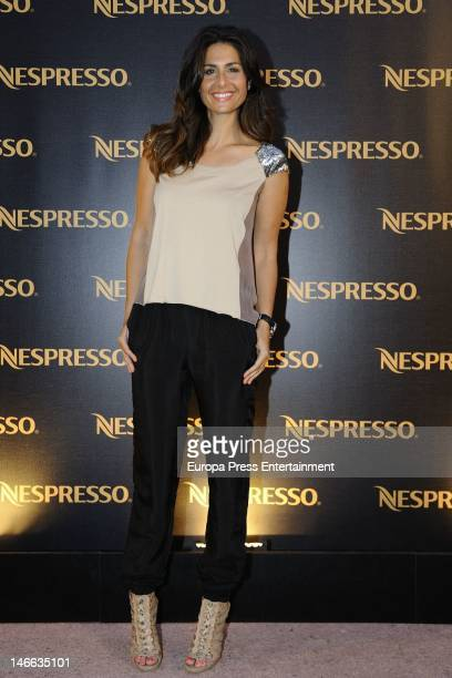 Nuria Roca presents 'U' the new Nespresso machine on June 20 2012 in Madrid Spain