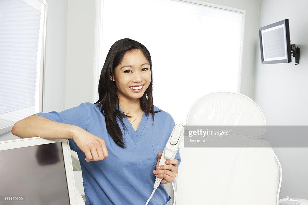 Nurse at a Laser Clinic