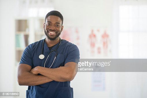 Nurse Happily at Work