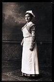 A nurse of the American Red Cross circa 1890