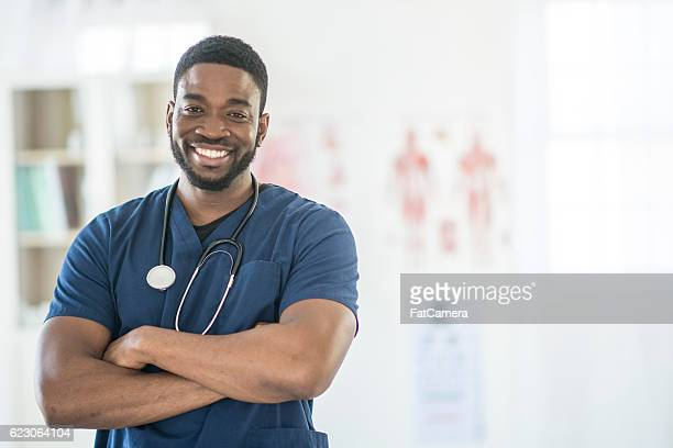 Nurse Working at the Hospital