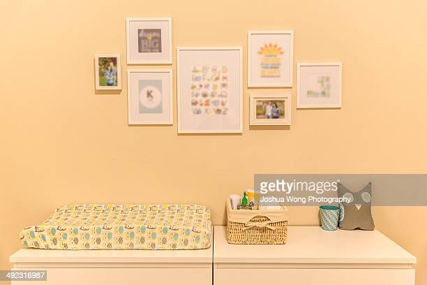 Nursery changing table