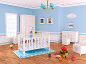 Nursery room (Blue)