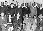 Nurses and staff at a hospital Newark New Jersey November 18 1941