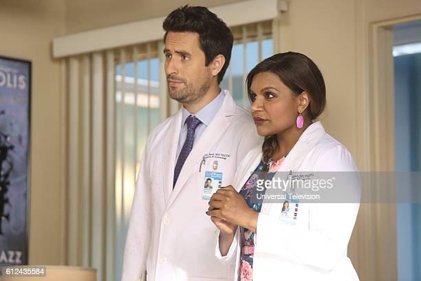 PROJECT 'Nurses' Strike' Episode 502 Pictured Ed Weeks as Jeremy Reed Mindy Kaling as Mindy Lahiri