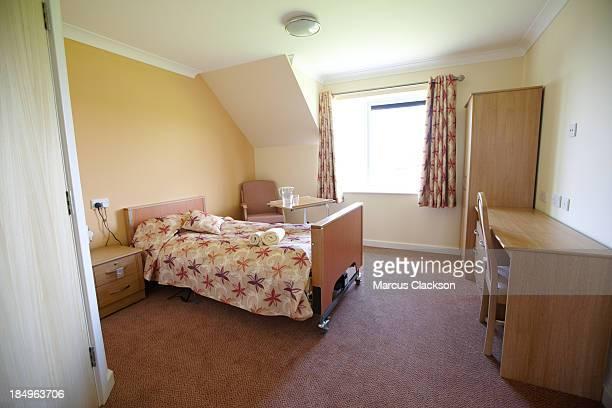 OAP stillende Pflege zu Hause Schlafzimmer