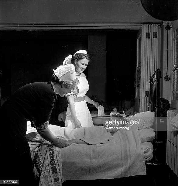 Nursing was one of the few career paths open to young women during the 1950s and training often involved long hours strict discipline and early...