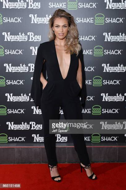 Nush Cope during the launch of 'Shack Sounds' at Shake Shack Leicester Square on October 22 2017 in London England