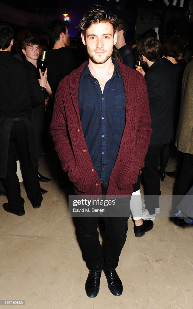 Nusician/model Roo Panes attends Burberry Live at 121 Regent Street at Burberry on April 23, 2013 in London, England.