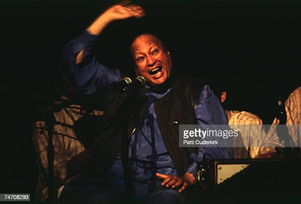 Nusrat Fateh Ali Khan at the Radio City Music Hall in New York City New York