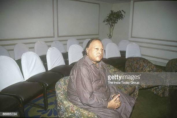 Nusrat Fateh Ali Khan Qawwali Singer in Hindi Films from Pakistan