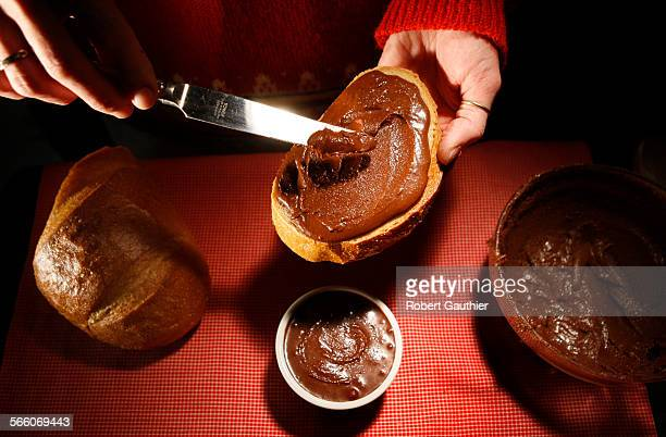 Nutella on bread Now that's gooooood