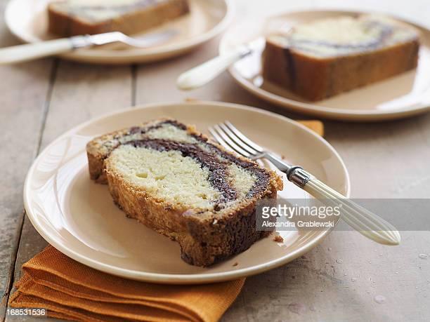 Nutella Swirl Cake