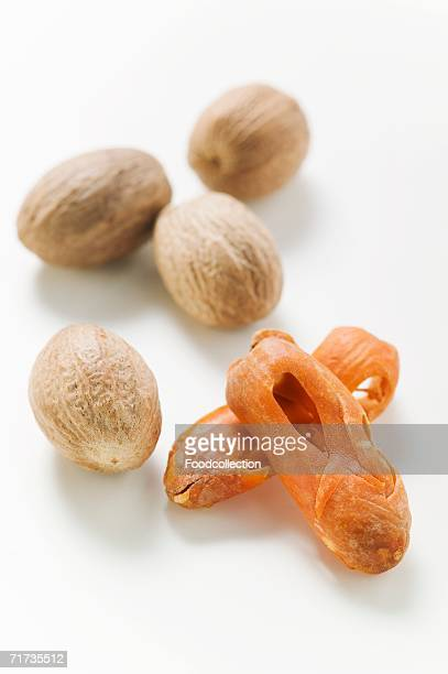 Nutmegs and mace