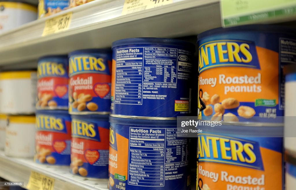 Nutrition labels are seen on food packaging on February 27, 2014 in Miami, Florida. The Food and Drug Administration is proposing several changes to the nutrition labels to make it easier for consumers to understand the nutritional value of the food they buy.