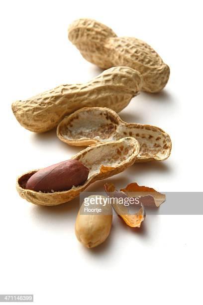"""Nüsse:  """"Peanuts"""" bezeichnet. """""""