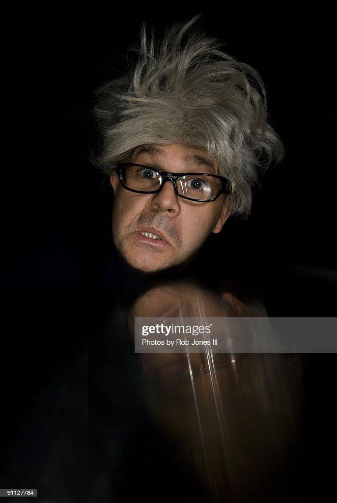 Nutty Professor : Stock Photo