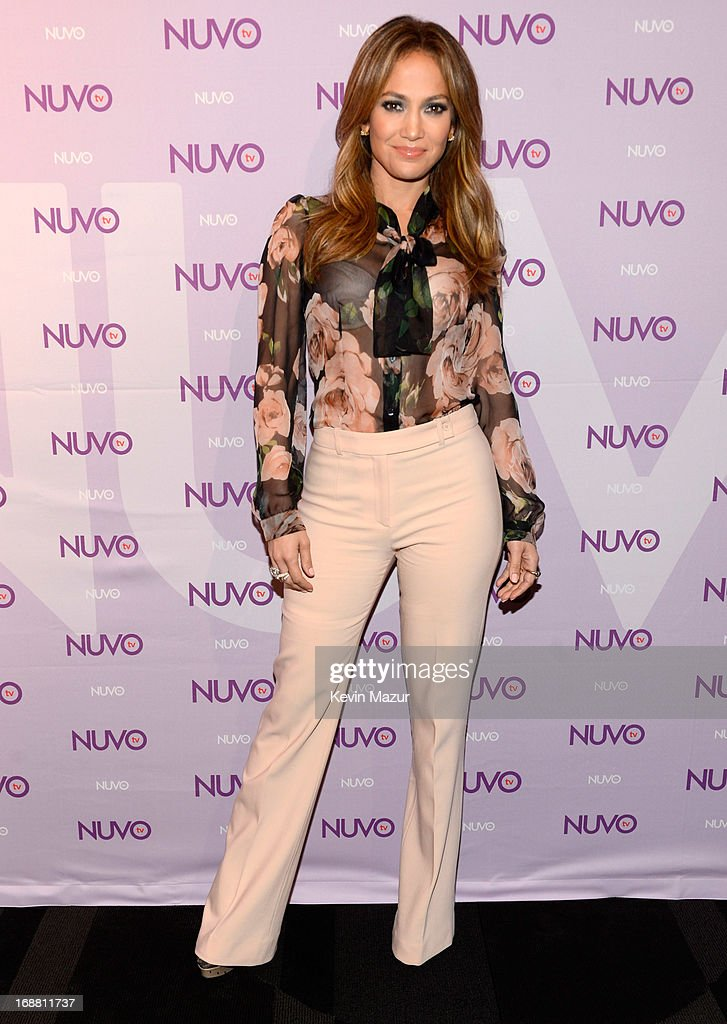 NUVOtv and Chief Creative Officer Jennifer Lopez present 20132014 Programming Slate at New York CityÊUpfront presentation at The Edison Ballroom on...