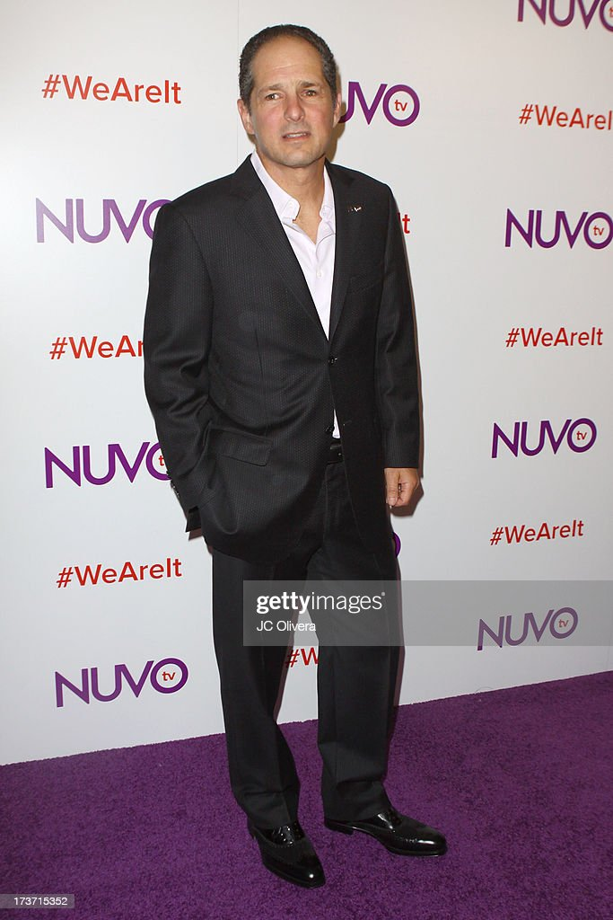 NUVOtv CEO Michael Schwimmer attends NUVOtv Network Launch Party at The London West Hollywood on July 16, 2013 in West Hollywood, California.
